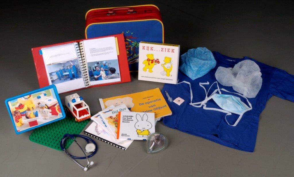 kind en ziekenhuis - koffertjeTilburg